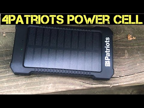 The 4Patriots Solar Power cell