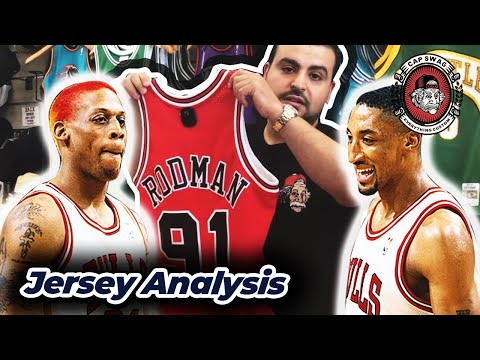 🔥 Dennis Rodman and Scottie Pippen 🔥 Mitchell and Ness Swingman Jersey Review