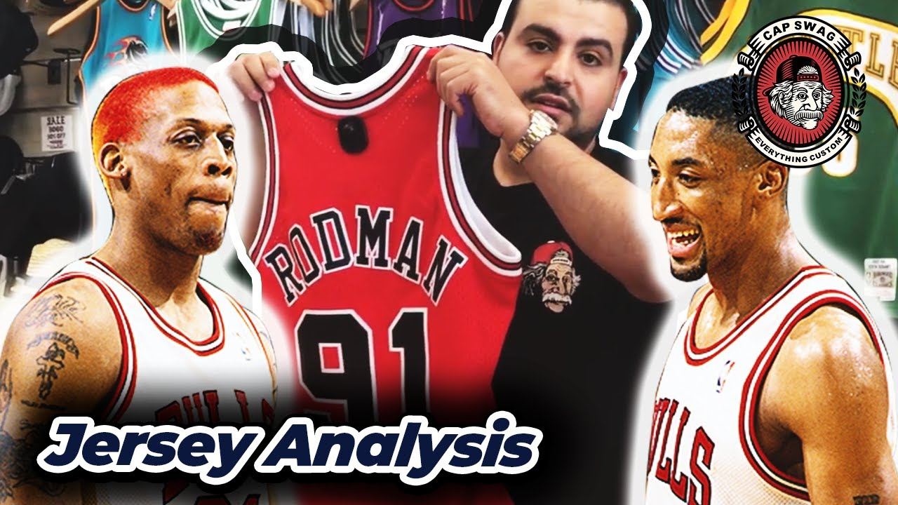 half off 373db a677d 🔥 Dennis Rodman and Scottie Pippen 🔥 Mitchell and Ness Swingman Jersey  Review
