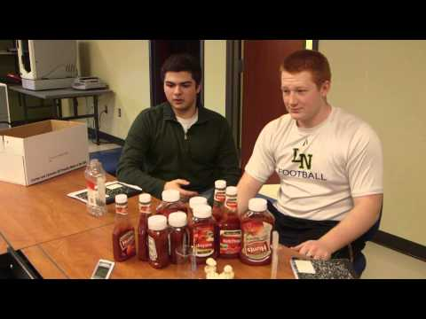 High-School-Age Heroes Create Ketchup Lid That Doesn't Squirt Water