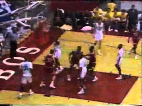 Indiana Hoosiers vs UCLA Bruins, 1992 NCAA West Regional Final, The Pit, New Mexico
