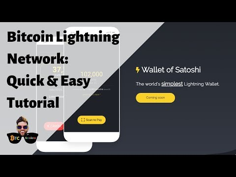How To Use The Bitcoin Lightning Network - Wallet Of Satoshi