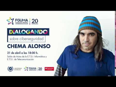 Dialogando sobre ciberseguridad con Chema Alonso