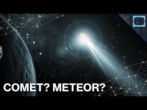Asteroids, Comets, & Meteors: What's the Difference?