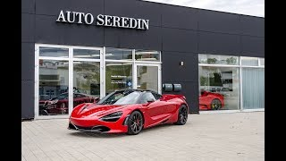 2017 McLaren 720S Coupe Memphis Red Exterior Interior REVIEW by Auto Seredin Germany