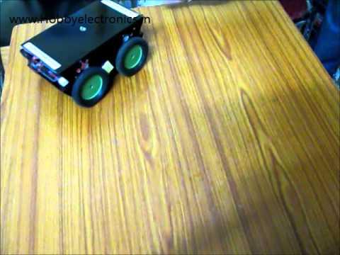Obstacle Avoiding Robot   HobbyElectronics.in