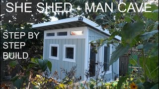 She Shed - Man Cave - 10x12 Studio Office