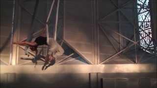 Aerial Sling Dance @ Olympic Stadium by Katerina Soldatou-Ta Vegalika Sou Matia, G.Dalaras