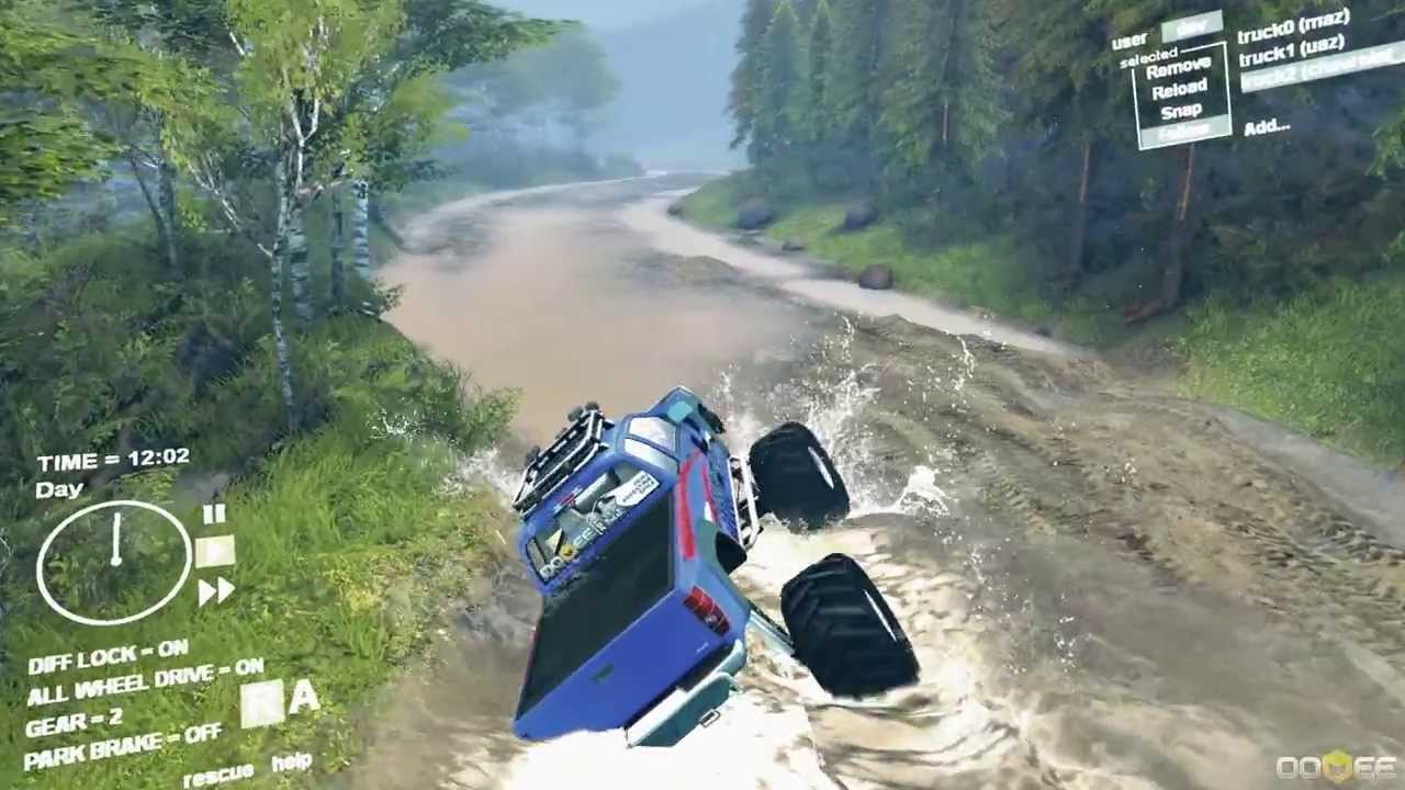 Monster Jam Games Free >> Spin Tires: Chevy Monster Truck Mudding Test - YouTube