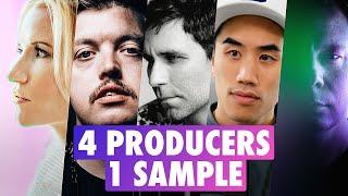 4 PRODUCERS FLIP THE SAME SAMPLE: Jamie Lidell, Flux Pavilion, Laura Escudé, Recue