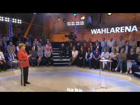 Angela Merkel touche le coeur du public allemand