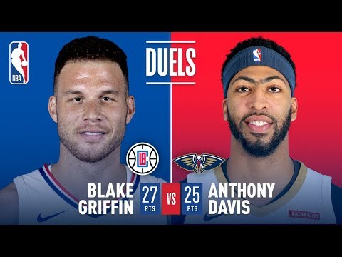 Blake Griffin And Anthony Davis Duel In NOLA | January 28, 2018