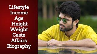 Vijay Devarakonda Lifestyle , Age  Height , Weight  Caste, Affairs, Biography, Family