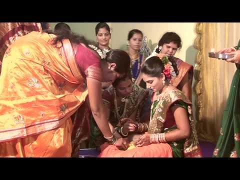 Kunal & Nikita Engagement Ceremony.... (Marathi Sakhapudha)