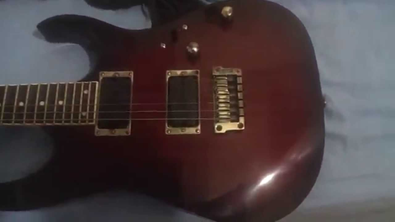 Guitarra Ibanez RG 321 MH - Modificada - YouTube on