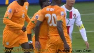 Portugal vs Ivory Coast