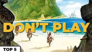 5 Reasons Not to Play - Robinson Crusoe with Jeremy Howard - @Man vs Meeple