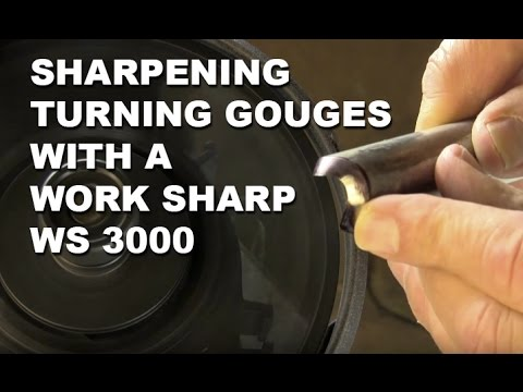 Woodturning Tip: Sharpening Gouges