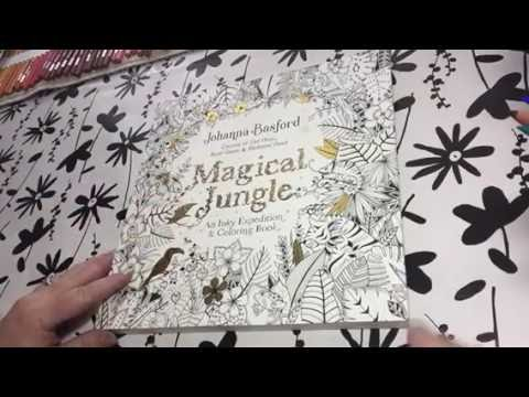 Magical Jungle Coloring Book US edition review of Johanna Basford