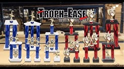 NEW Troph-Ease Awards Product Line Introduction. Building Trophies. Trophy Parts Instructions.