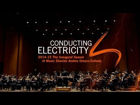 Conducting Electricity - The Houston Symphony's 2014-2015 Season Announcement
