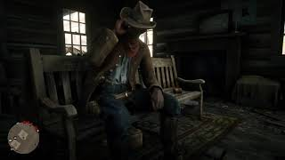 Red Dead Redemption 2: strangly white person at the post office