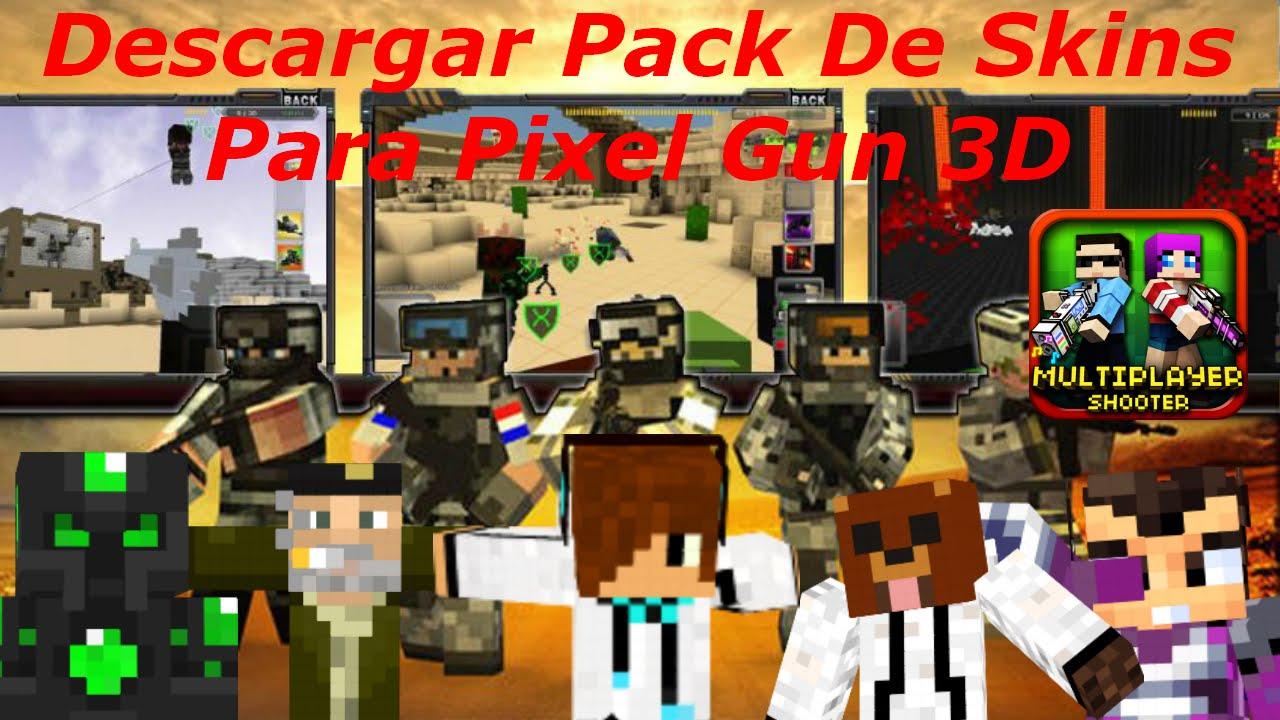 Pack De Skins Para Pixel Gun D Descargar Android Ios - Descargar skins para minecraft gratis android