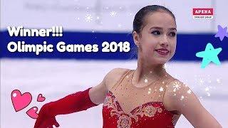 Alina Zagitova-winner .Olimpic Games 2018. (자기토바 평창올림픽 피겨스케이팅)Поздравляю Алину Загитову!!!!