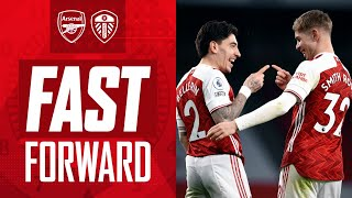 FAST FORWARD | Arsenal 4-2 Leeds | New angles, tweets, memes and fan reactions
