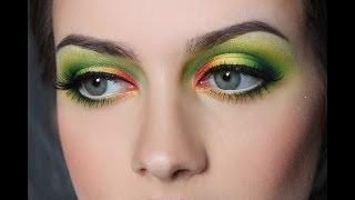 Макияж в акварельной технике/ Alexeeva Victoria Make-up Studio
