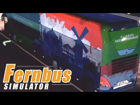 FERNBUS SIMULATOR #63 - Einmal volltanken bitte! NEOPLAN SKYLINER |