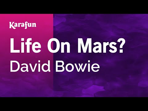 Karaoke Life On Mars? - David Bowie *