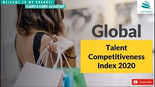 Global Talent Competitiveness Index 2020 ?