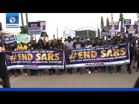 'Enough Is A Enough', Edo Youths Protest Against SARS
