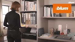 Pull-out shelf lock: Secure hold for pull-out shelves | Blum