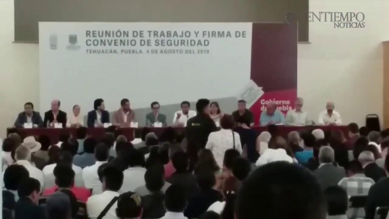 Miguel Barbosa Y Felipe Patjane Firman Convenio De