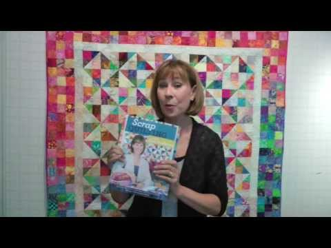 New Scrap Quilting Book With Alex Anderson