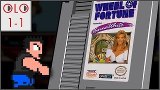 Wheel of Fortune Featuring Vanna White - NES - Only Level One