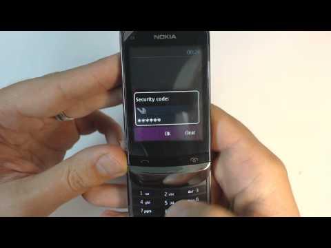 Nokia C2-06 factory reset