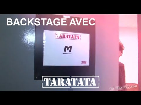 Backstage M Live TV rehearsal
