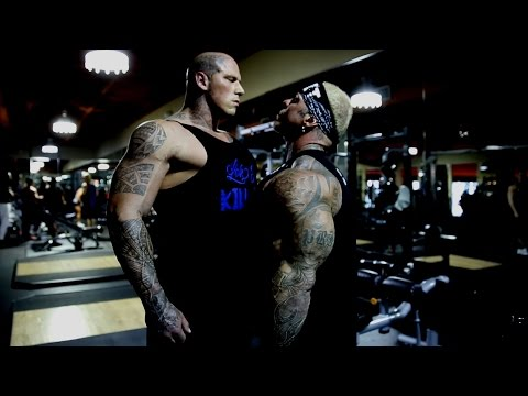 Rich Piana vs Martyn Ford - Pure cringe : bodybuilding