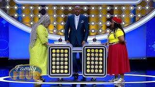 Brassieres can stash many items, who knew they were so multifunctional!!!! | Family Feud Africa