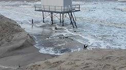 2019 Sturm Zeetje Insel Usedom Ostsee Zinnowitz Zempin Koserow Sturmflut