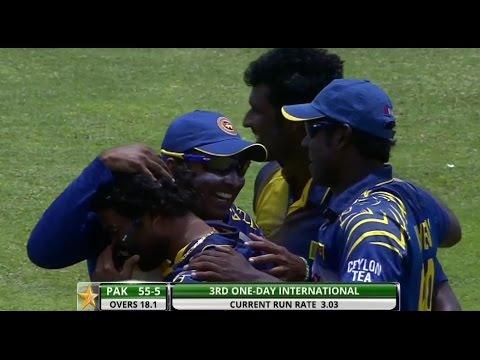 Highlights: 3rd ODI at Dambulla - Sri Lanka v Pakistan 2014