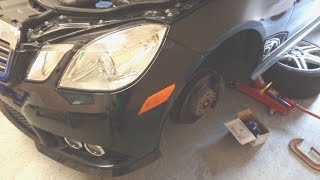 diy w212 mercedes e350 how to replace install brake pads
