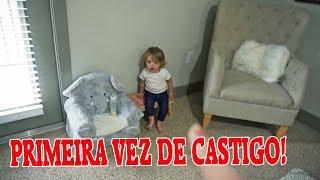 ELA FICOU DE CASTIGO PELA PRIMEIRA VEZ!