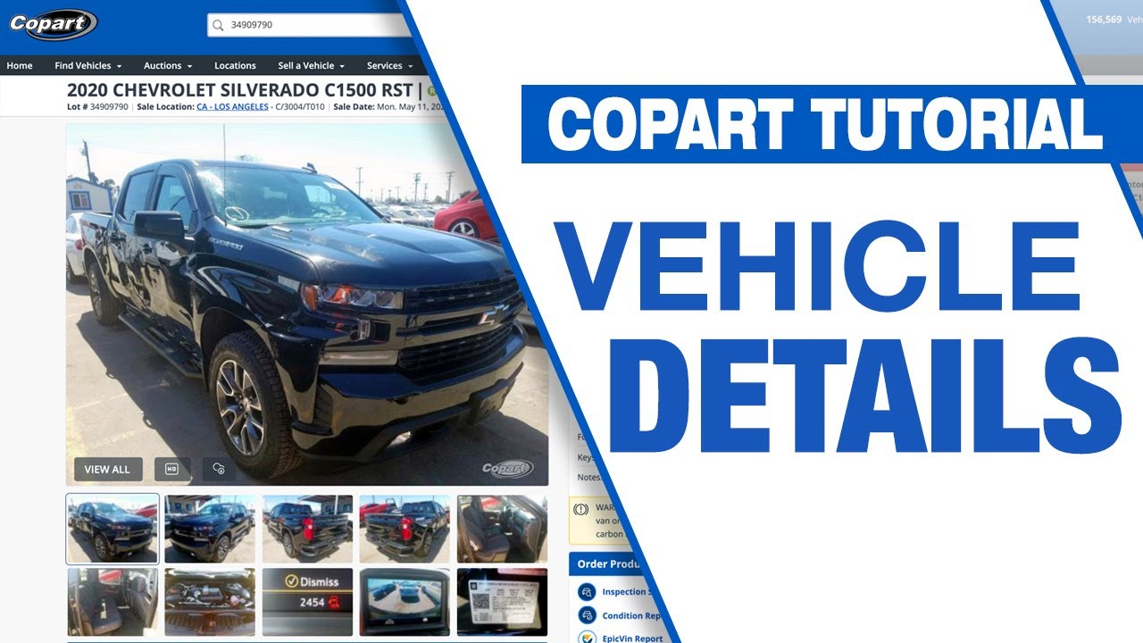 Check Out Copart S Updated Lot Details Page