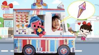 wheels on the bus 라임의 거대 아이스크림 트럭 만들기 | 휠온더버스 자동차 인기동요