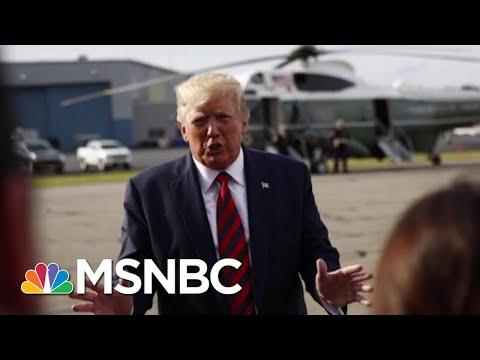 Trump Denies Report He'd Pardon Aides Over Wall   Morning Joe   MSNBC