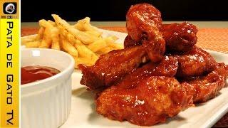 alitas a la barbecue fcil easy bbq chicken wings